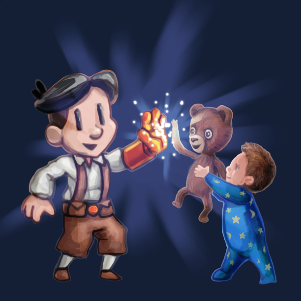 AmongTheSleep_Teslagrad_highfive
