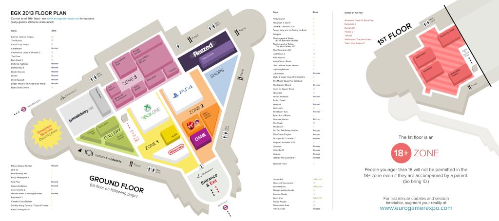 Eurogamer Expo 2013 Show Floor
