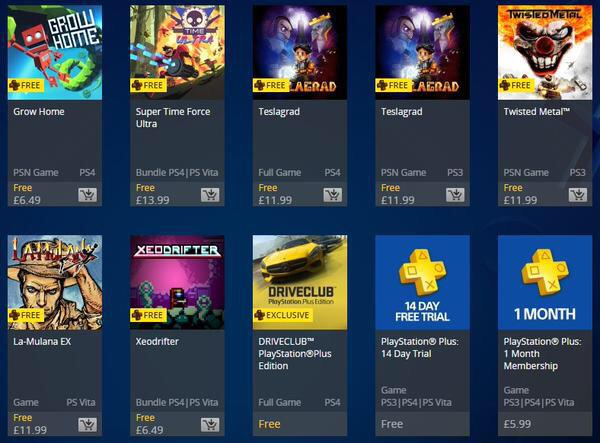 how to get a free month of playstation plus